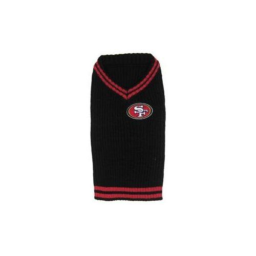 496b8e618 San Francisco 49ers dog pet sweater SM 8-16 lbs