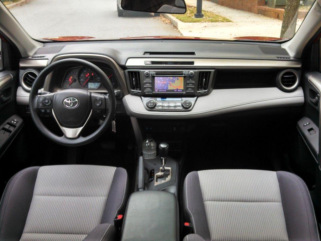 2013 toyota rav4 xle fwd interior entune navigation livingvroom