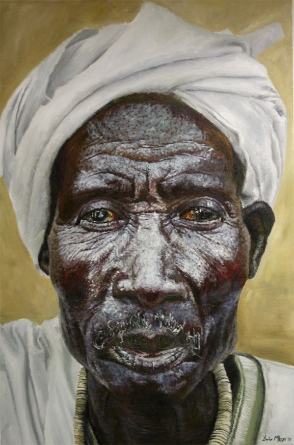 Feature Artist Loyiso Mzike South African Artists Portrait Painting South African Art