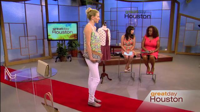"""Our """"Dress for Summer"""" segment on KHOU Houston's morning show, Great Day Houston. Click through for the video!"""