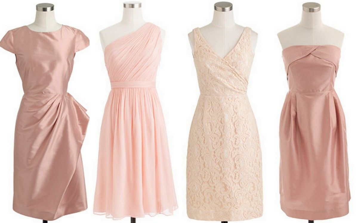 Style Inspiration & Design Linen Bridesmaid Inspiration Blush Pink ...