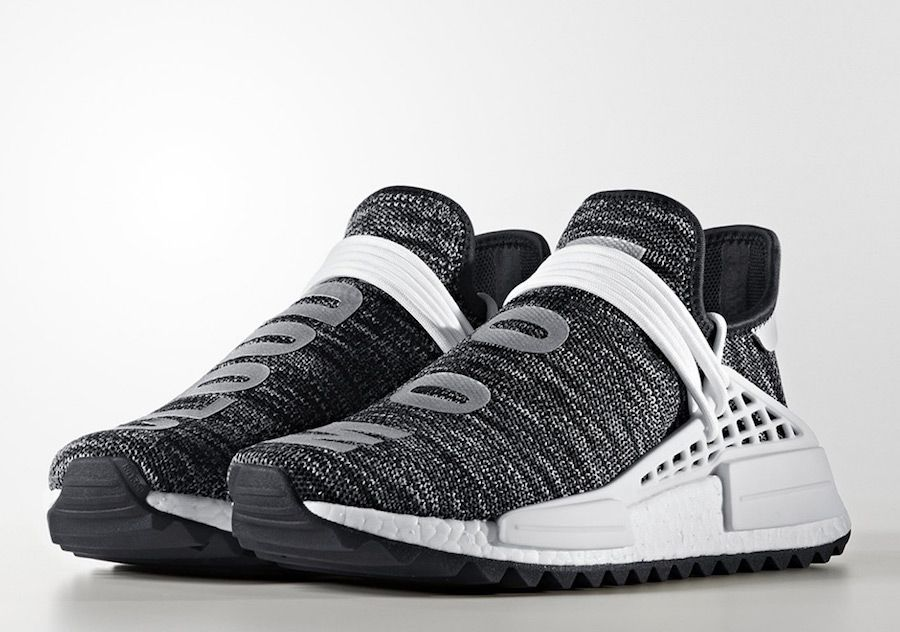 buy popular 15d39 6da4d Look for all four pairs from the Pharrell x adidas NMD Hu Trail Collection  to drop