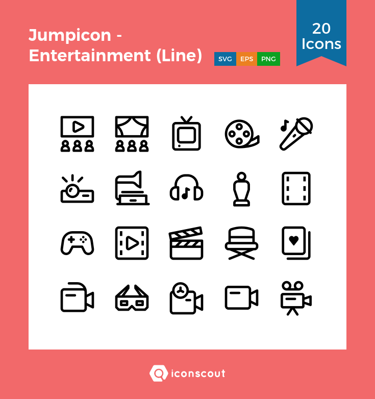 Download Entertainment Icon Pack Available In Svg Png Eps Ai Icon Fonts Communication Icon Environmental Graphic Design Icon