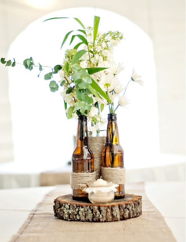 10 Gorgeously Beautiful Diy Rustic Vases My Cosy Retreat Dad
