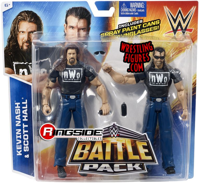 NWO WWF WWE The Outsiders Scott Hall Kevin Nash Wrestling Action Figure Kid Toy