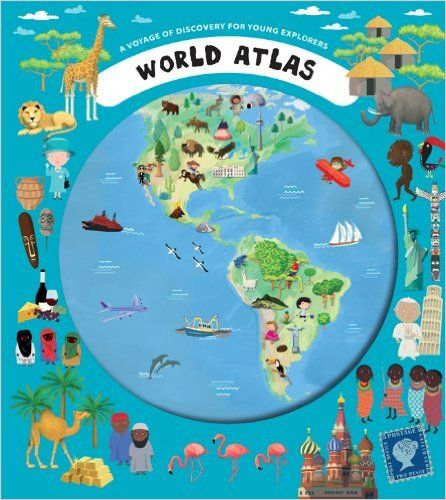 World atlas a voyage of discovery for young explorers iva world atlas a voyage of discovery for young explorers iva sisperova oldrich ruzicka gumiabroncs Choice Image