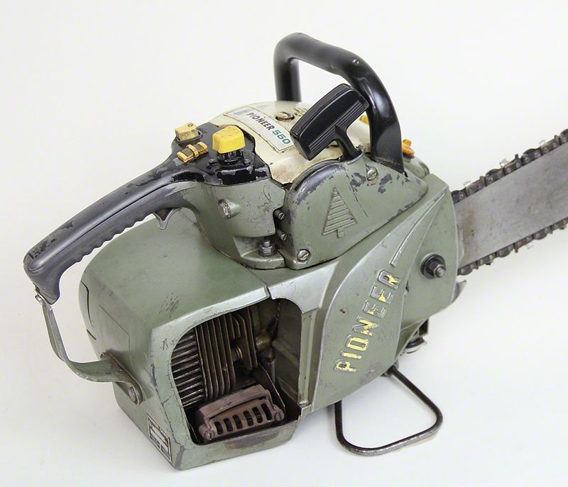 Vintage chainsaw  Pioneer 550  | chainsaws in 2019