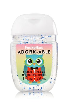 Adork Able Pocketbac Sanitizing Hand Gel Bath Body Works