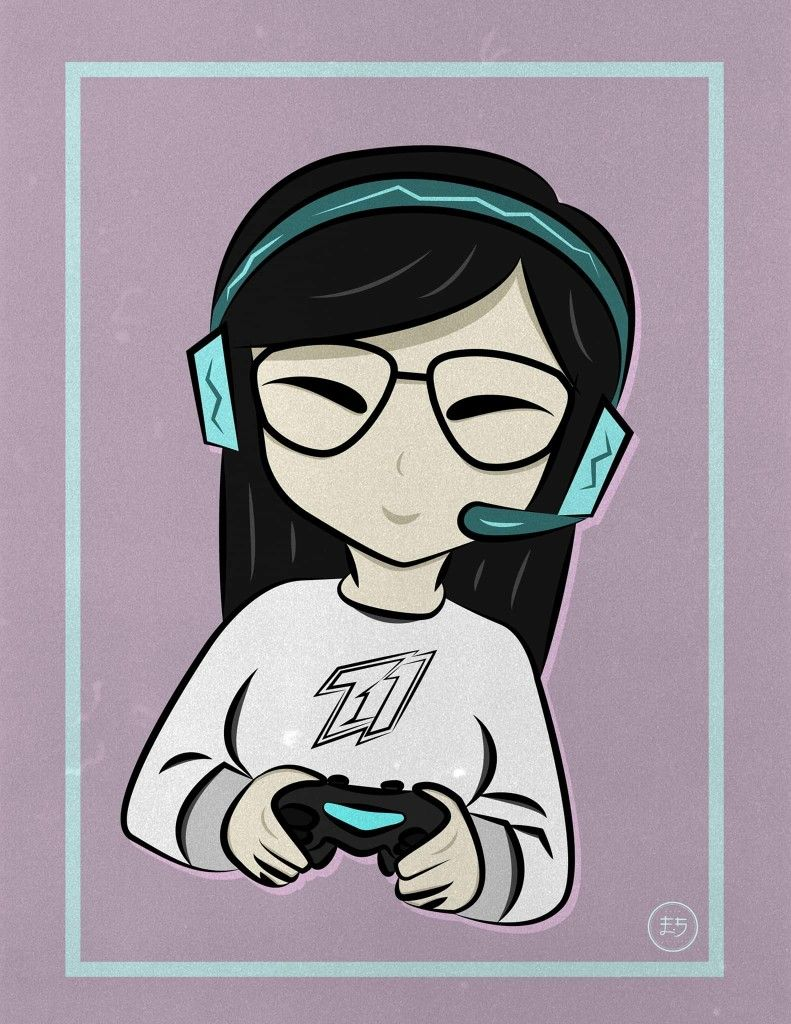Logo for gaming girls / By 4st gamer YouTube Desenhos
