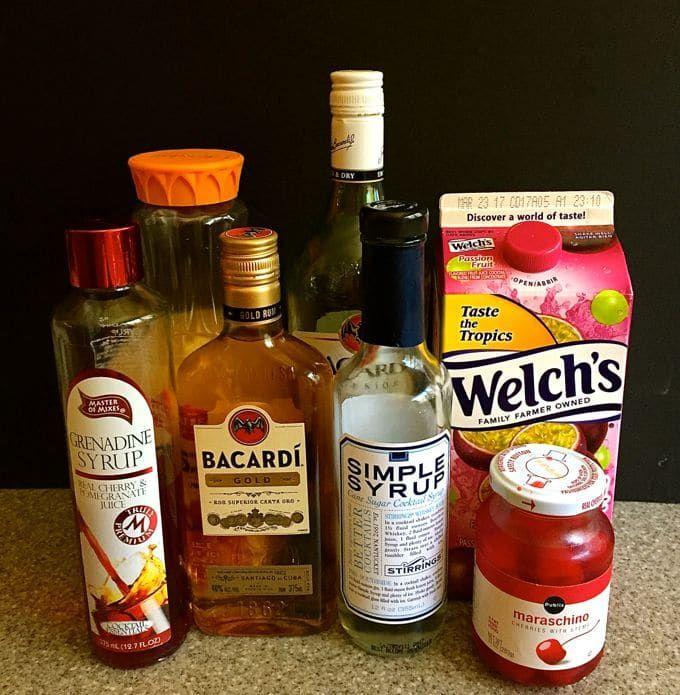 Hurricane Cocktail Recipe