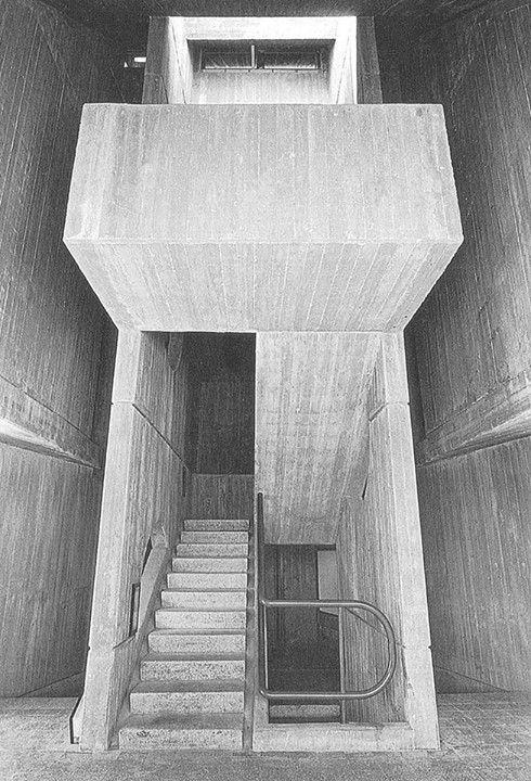 Student dorms, Negev University, Beer Sheva, Israel (1974) Architect: Ram Karmi