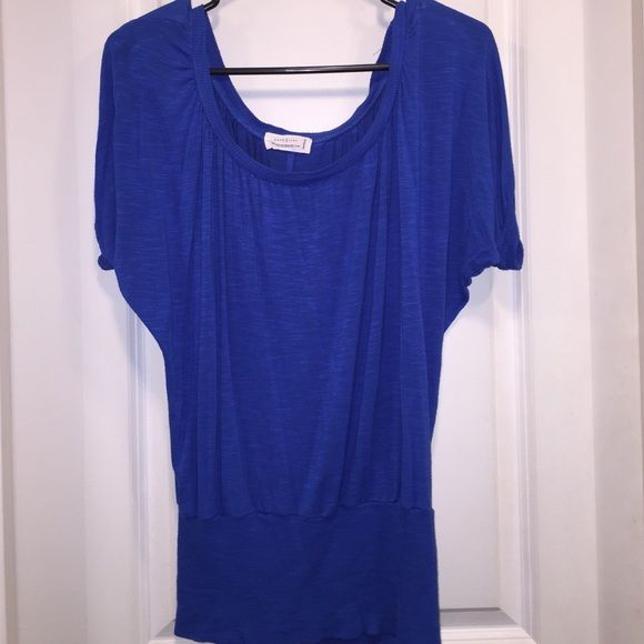 Gorgeous Blue Blouse  In good condition blue blouse. Love Tree Tops Blouses