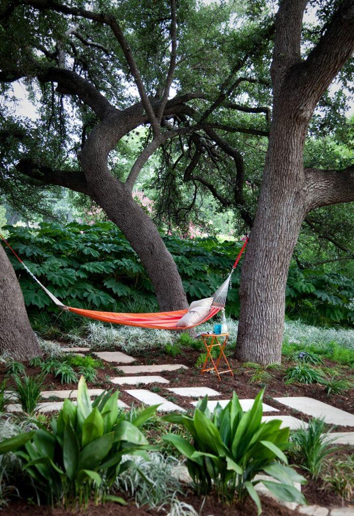 80 Gartengestaltung Vorschläge   Einfach, Aber Erfolgreich Den Garten  Gestalten | Garten | Pinterest | Garten Gestalten, Hängematte Und Vorschlag