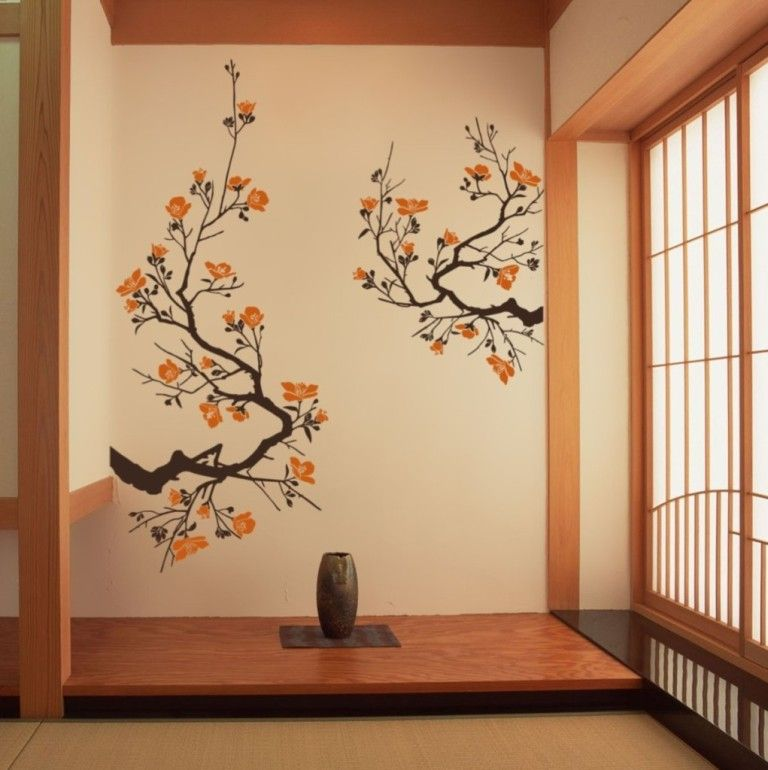 Interior Traditional Oriental Wall Decor Ideas Also Asian Wall