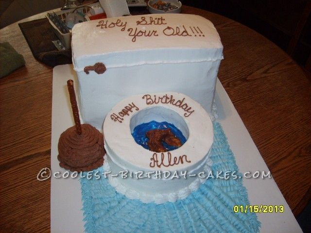 just for fun adult toilet bowl birthday cake toilets homemade on easy birthday cakes adults
