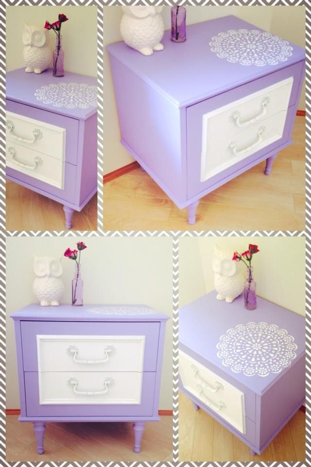 Restored Retro Bedside Table Paint Me Pretty Furniture Perth Pretty Furniture Retro Bedside Tables Furniture