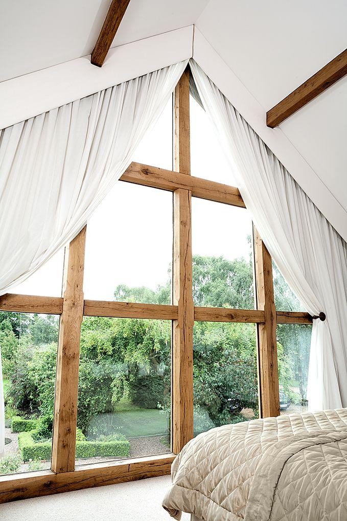 Oak window frames from Venables Oak producers of custom made windows ...
