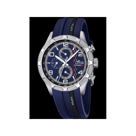 El Azul Es Uno De Esos Colores Que Siempre Está De Moda Por Eso Este Reloj Lotus Relojes Watches De La Colección De Mar Relojes Lotus Marc Marquez De Moda