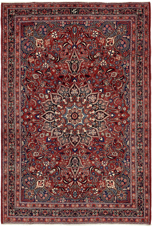 Red 6 10 X 10 3 Birjand Persian Rug Persian Rugs Esalerugs Persian Rug Rugs Distressed Rugs