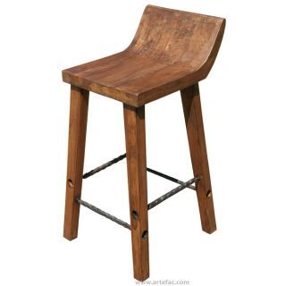 Made Of Recycled Wood And Metal This Industrial Stool Will Make A
