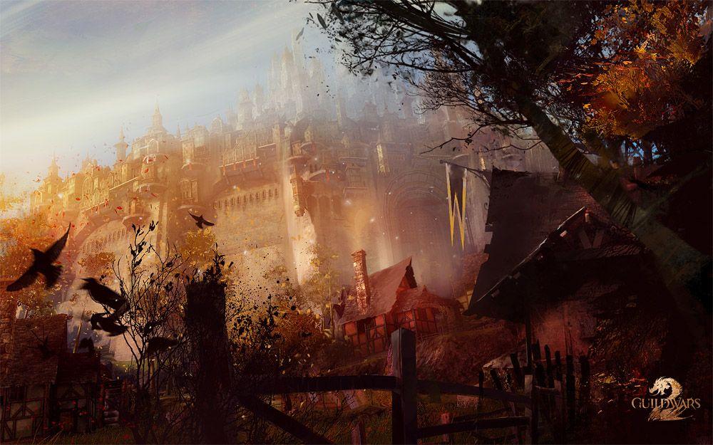 Guild Wars 2 Concept Ascalon City Guild Wars Guild Wars 2 Digital Art Gallery