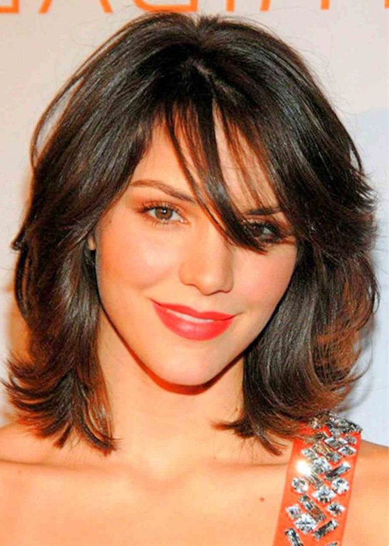 Short To Medium Length Hairstyles With Bangs Page 10 My Beauty Note Shoulder Length Hair Styles For Women Thin Fine Hair Medium Hair Styles