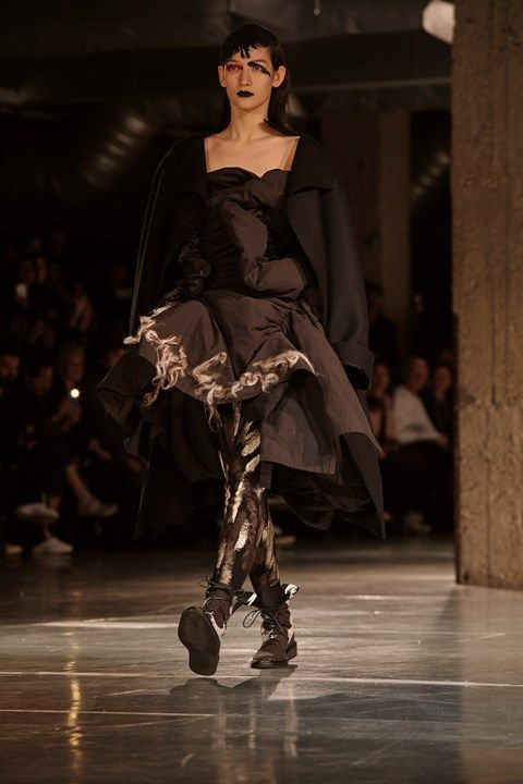 Yohji Yamamoto AW17 womenswear paris
