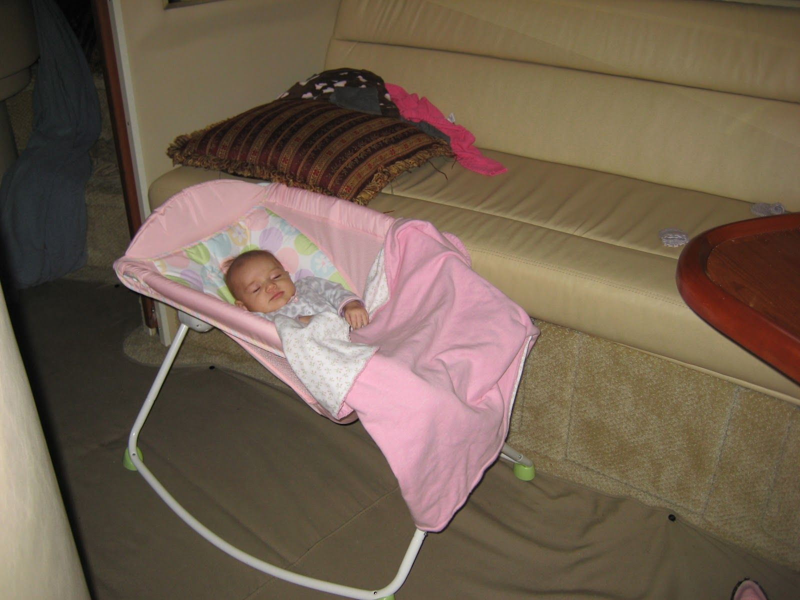 Baby Bed Options On A Boat Baby Sleepers Safe Sleeping Baby