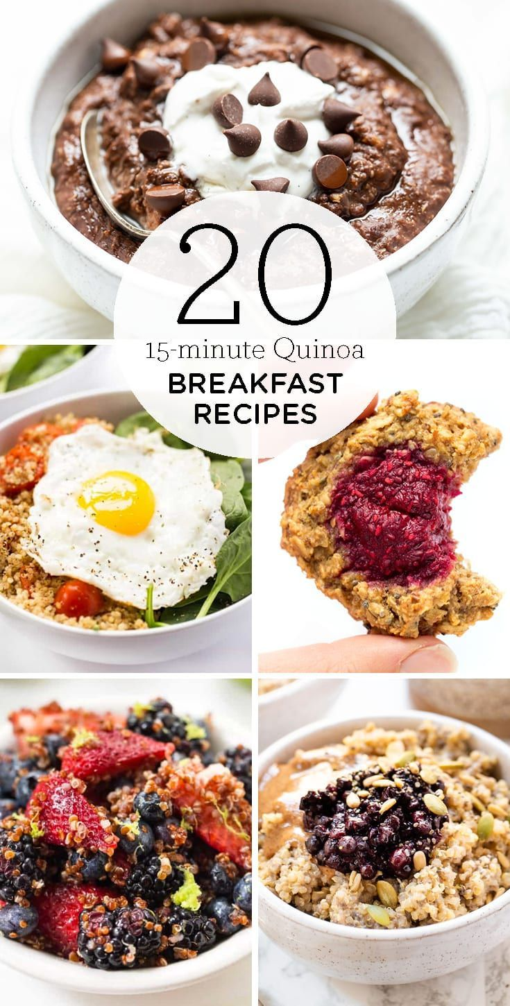 Photo of Super Easy 15-Minute Quinoa Breakfast Recipes – Simply Quinoa