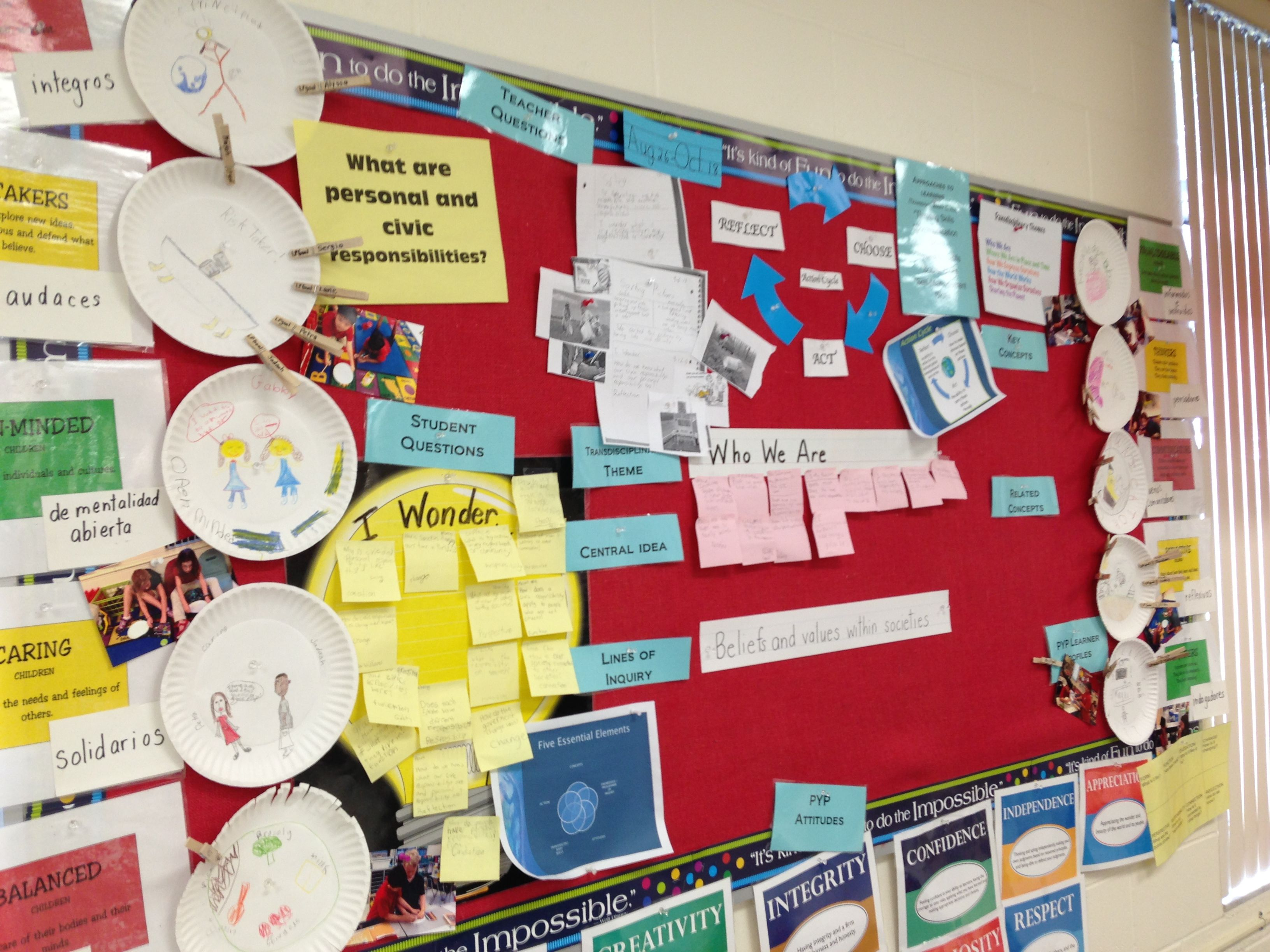 Classroom Unit Ideas ~ Who we are pyp unit units of inquiry pinterest