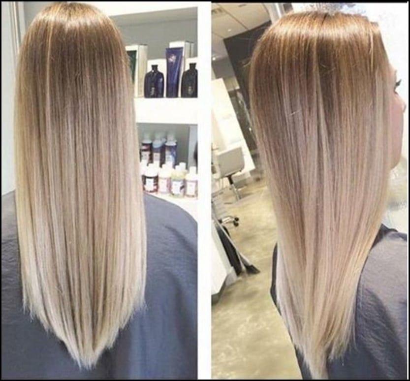 V Schnitt Für Lange Haare Für Haare Lange Schnitt In 2018