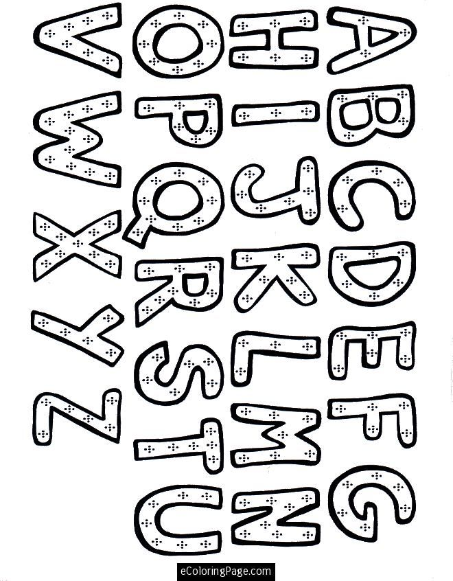 alphabet-coloring-page-for-kids-printable.gif (660×846) | Learning ...