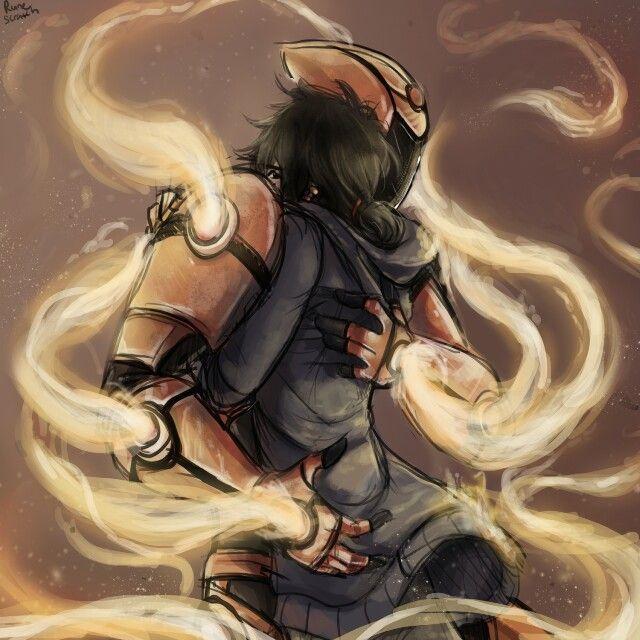 Hiro and Sunfire(Tadashi) by Runescrath