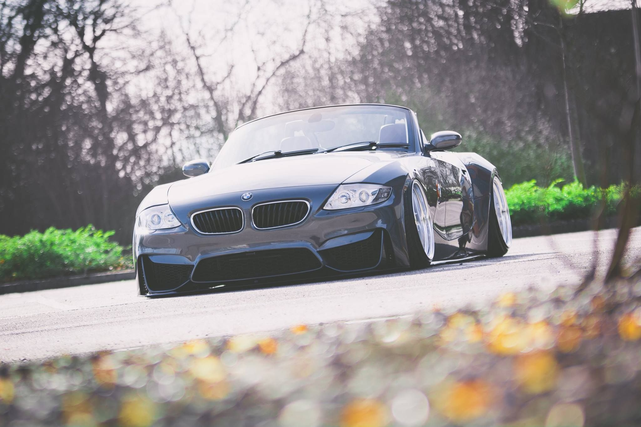 M4 Front Bumper Conversion On My E85 Bmw Z4 Z4 Bmw