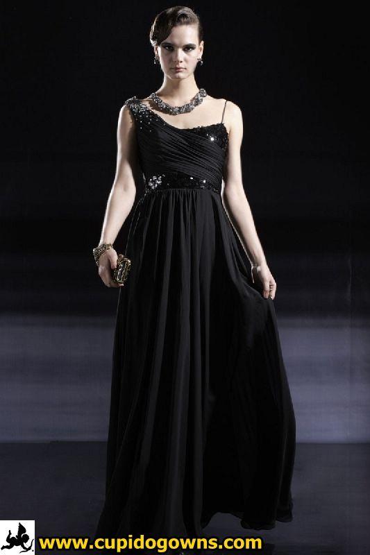 classy dresses | Classy Black Dinner Dress | Singapore Evening Gowns ...