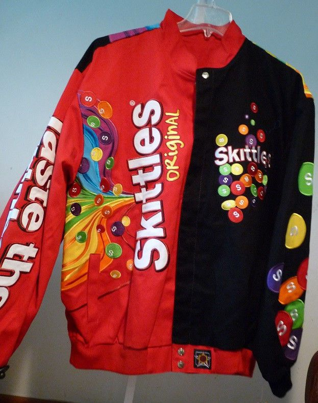 meet f68ca 946d8 JH Design Skittles Adult Jacket   We ship Worldwide  Great item for  Birthday s Gift, Parties, Team Support or just for Great Looks   Available  from ...