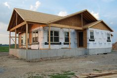Building a house from the ground up. Lots of good info for building ...