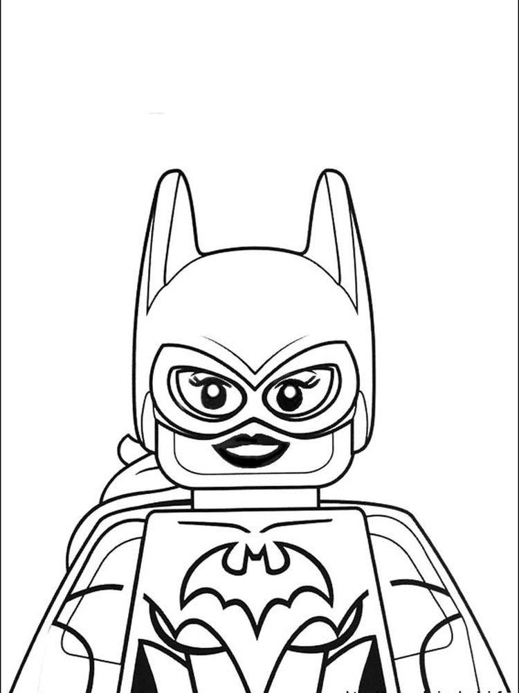 Lego Batman Coloring Pages Printable in 2020 Batman