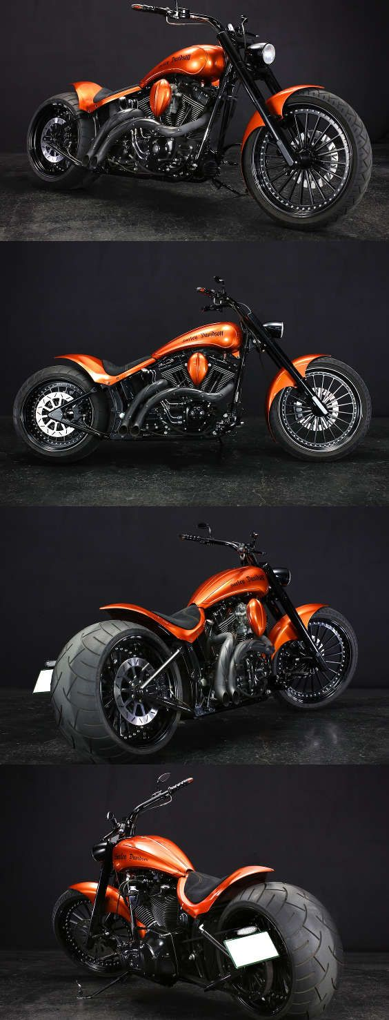 Defaul T Softail Bobber Motorcycle Harley Softail