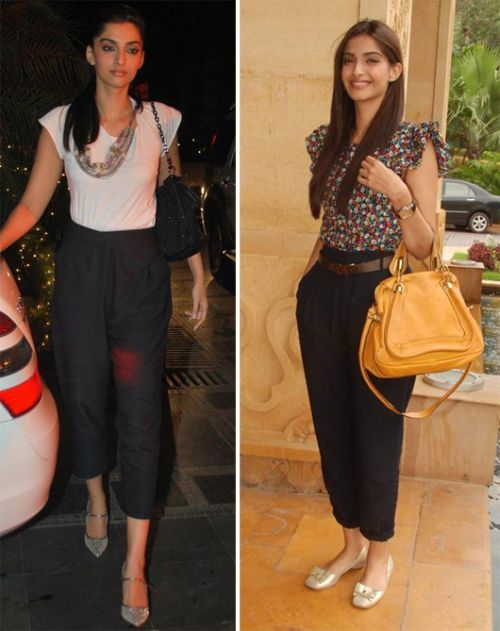 Sonam loves her high-waist pants!