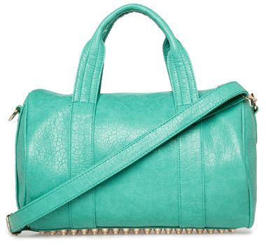 Dailylook Studded Base Bag in mint green (Alexander Wang Rocco knockoff)