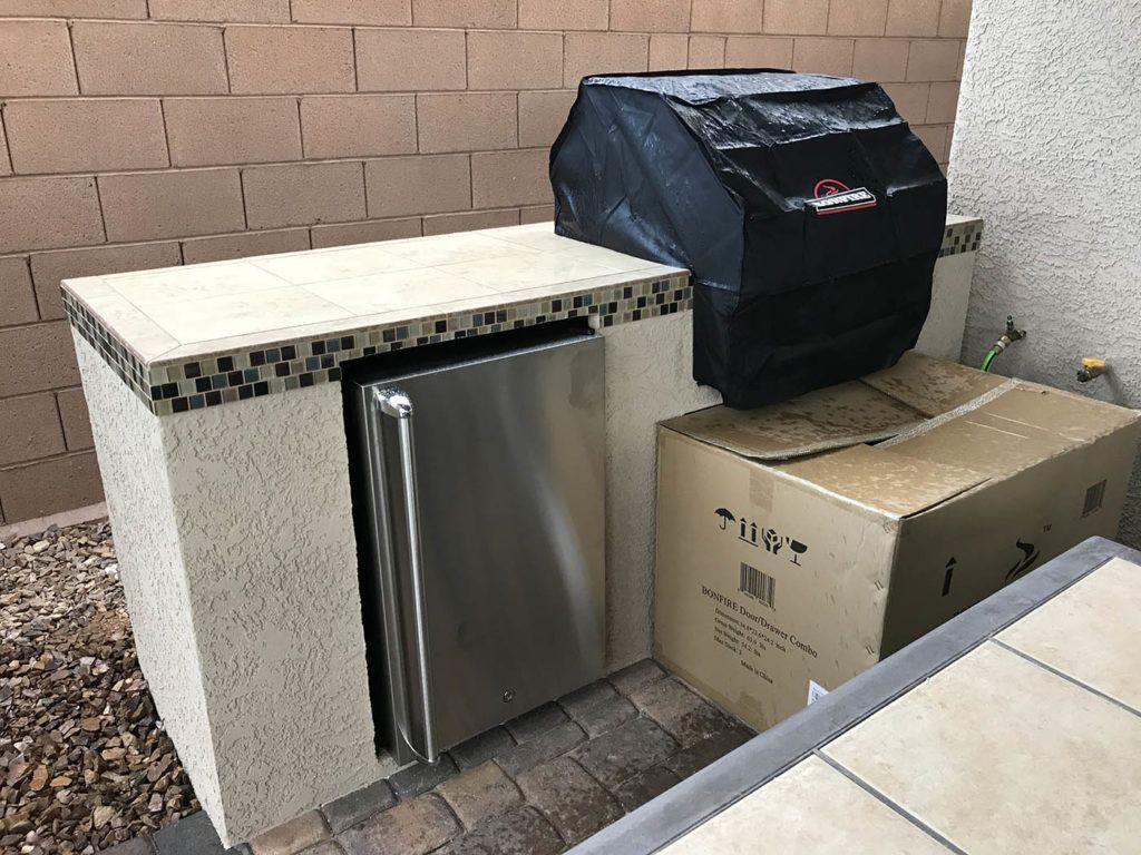 Of Las Vegas Nevada Outdoor Kitchen Design Outdoor Kitchen Bbq