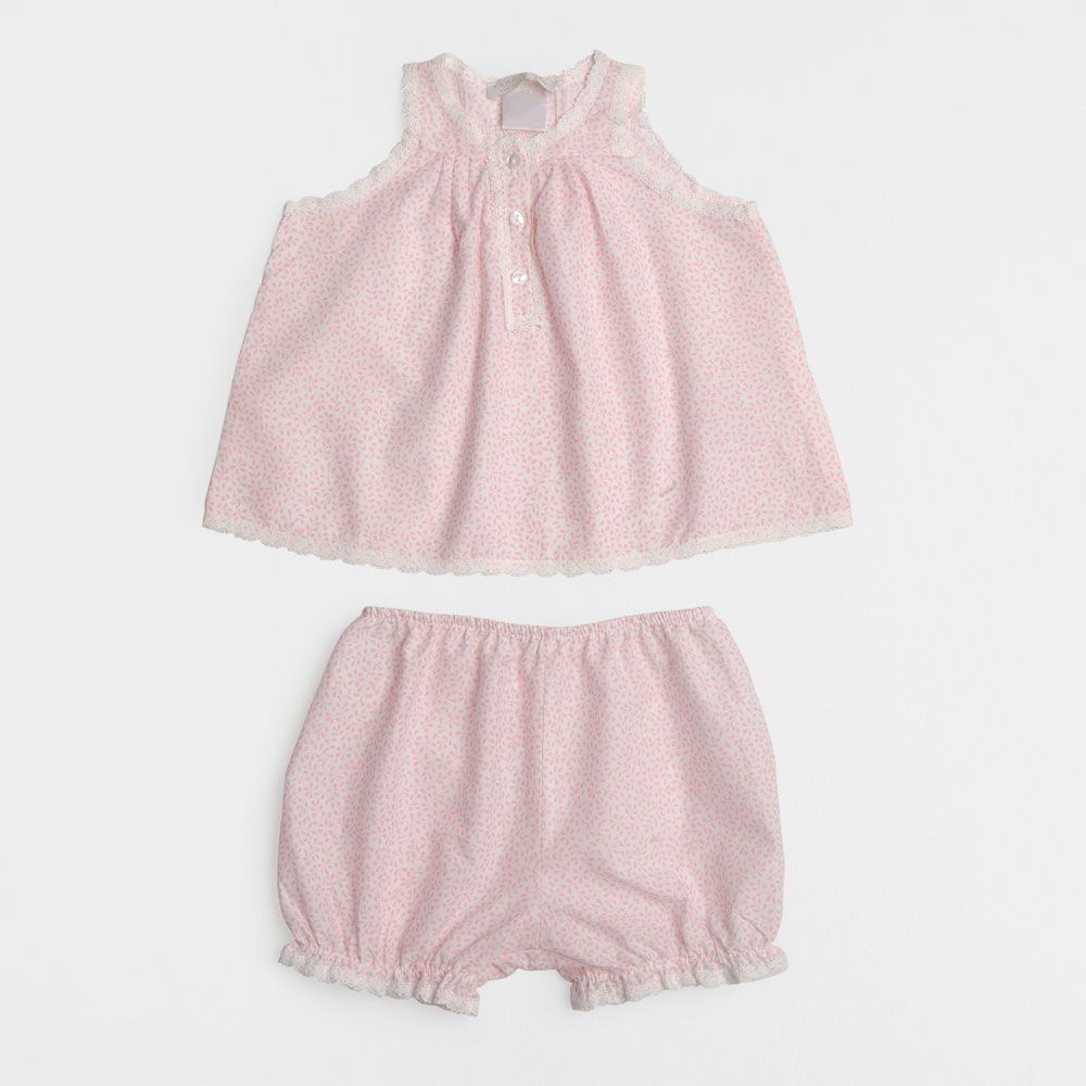 Zara Home Baby Embroidered Baby Set | Baby girl summer ...