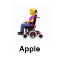 Woman In Motorized Wheelchair Emoji In 2020 Emoji Emoji Design Wheelchair