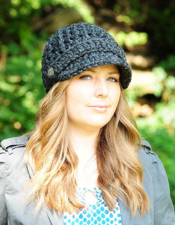 Sombrero del ganchillo de la mujer / sombrero de vendedor de ...