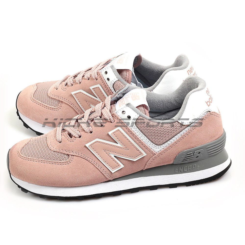 Stevenson dinosaurio saber  New Balance WL574UNC B Pink & Grey & White Suede Classic Lifestyle Sneakers  NB #fashion #clothing #shoes #accessories #wome… | New balance, Sneakers,  Athletic shoes