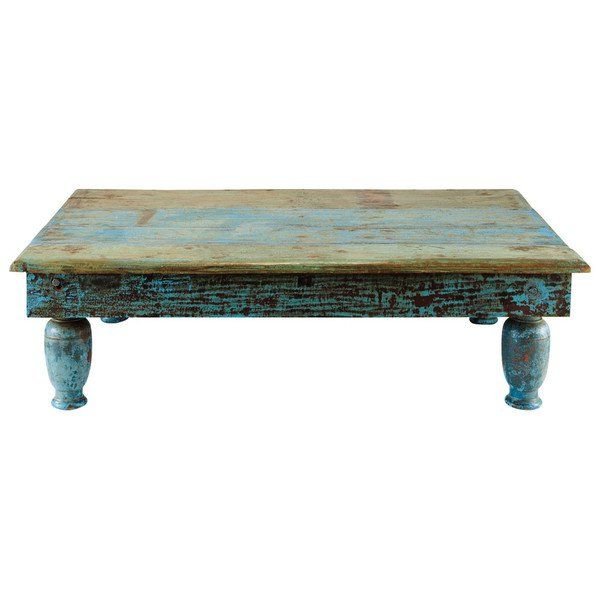Rustic Turquoise Coffee Table Country Charm Table How To