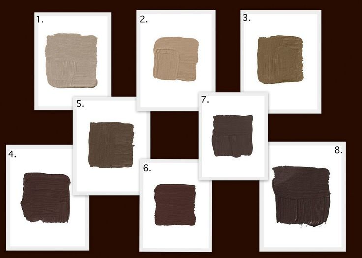 Background Color Is Benjamin Moore Bittersweet Chocolate A Personal Favorite 1 Farrow And Ball London Stone Nice Taupey Brown For Those Of You Who