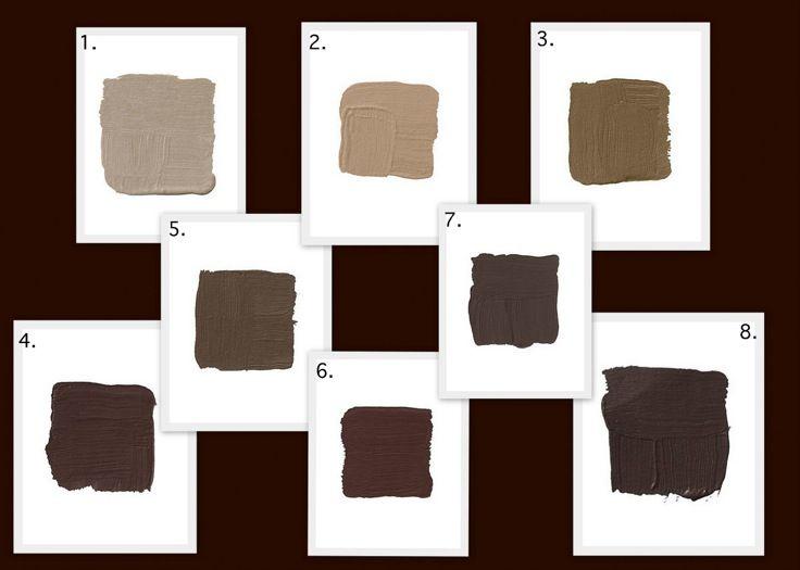 Background Color Is Benjamin Moore Bittersweet Chocolate