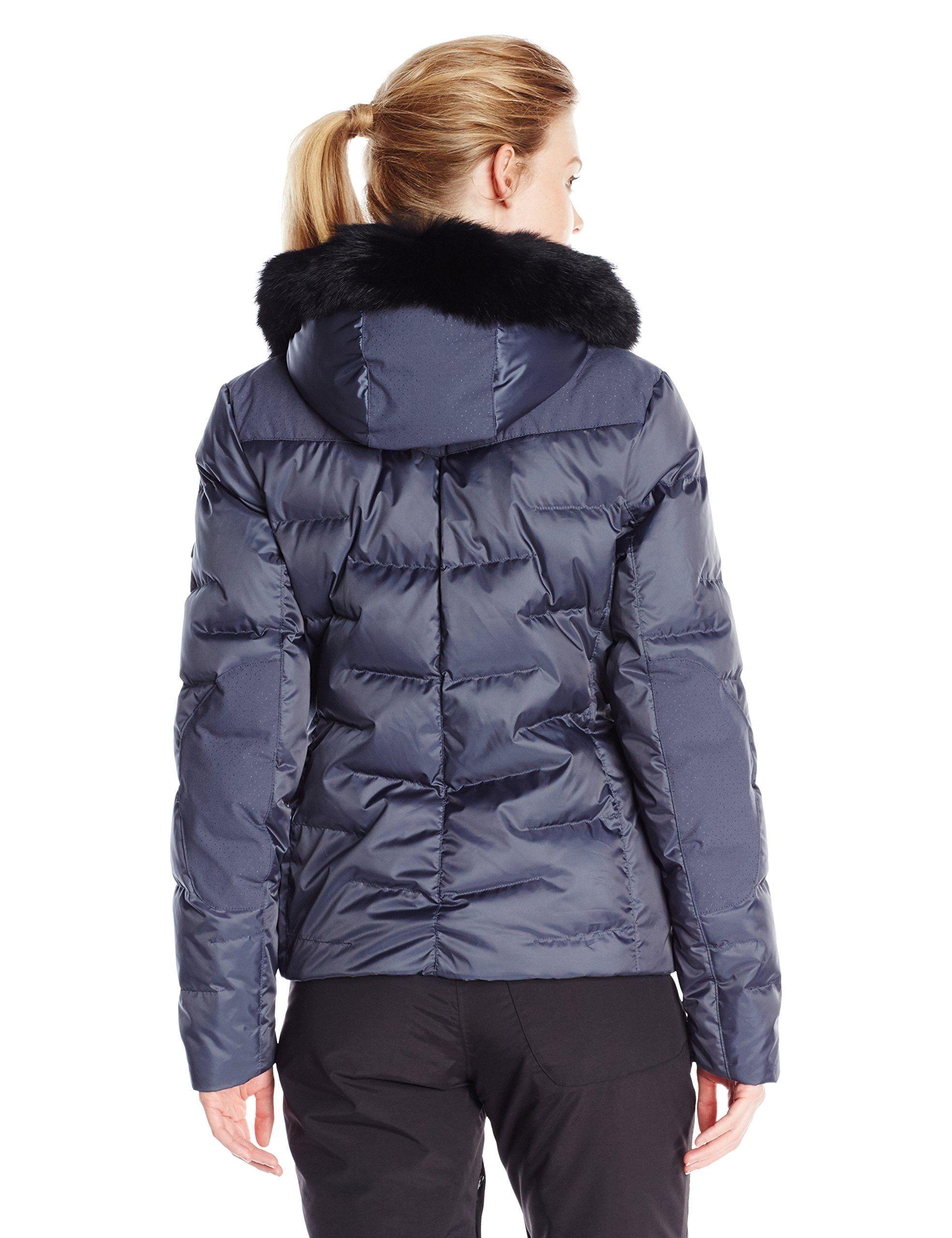 Spyder Women's Falline Real Fur Jacket